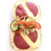 Broodje salami en kaas